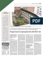 Artículo sobre el Beti-Jai en La Razón (09-03-2010)
