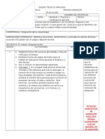 Planificaciones 1er. bloque 2° grado 2011