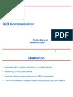 d2d communication