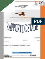 Rapport de Stage 1