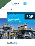 Programm Thermodynamik-Kolloquium Stuttgart 2014