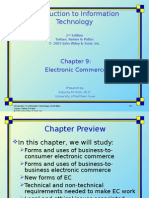 Chapter 9 - Electronic Commerce
