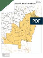 Cong. Dist. 1 Map
