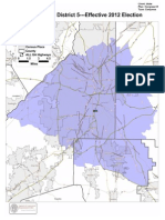 Cong. Dist. 5 Map