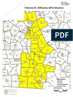 Cong. Dist. 8 Map