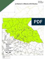 Cong. Dist. 9 Map