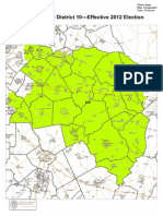 Cong. Dist. 10 Map