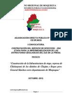 Represa de Chirimayuni - Moquegua