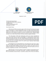 Joint Letter to President