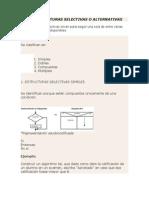 Estructuras Selectivas y Repetitivas