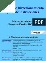 Set de Instrucciones HC08