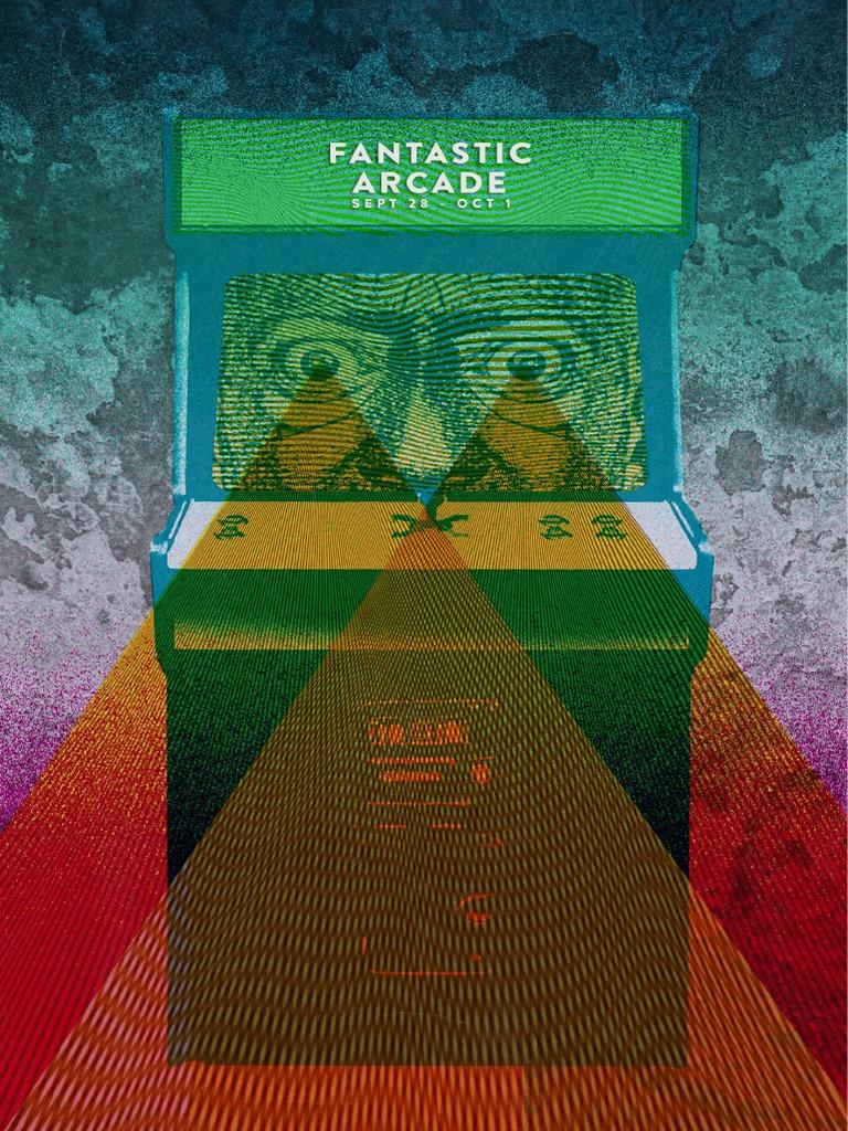 2015 Fantastic Arcade Guide Video Games Leisure