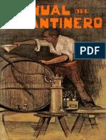 1909 Manual Del Cantinero - Carlos Golfrin - Barcelona España