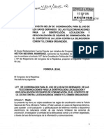 Proyecto de Ley Nº 4809/2015-CR
