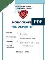 Monografia El Deporte Daniel