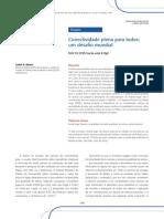 Afonso, Janeiro - 2010 - Conectividade Plena Para Todos Um Desafio Mundial