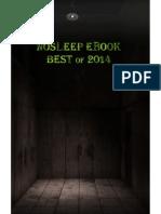 NoSleep eBook 2014 - Issue 4 - NoSleep
