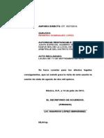 robo mercancias tipo penal federal juicio oral NSJPA reformas constitucionales derechos humanos proceso juez de distrito