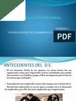 DESARROLLO EMPRESARIAL 1.