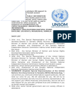 SRSG Kay pledges UN support to improve status of Somali women