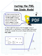 Constructing the PWL Junction Diode Model