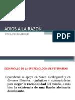 Presentacion de Adios a La Razon