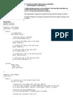 Programming Assignment 1