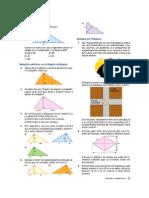 Lista Relações Metricas no Triângulo Retângulo