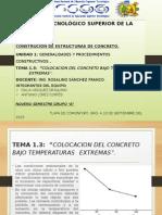 Tema 1.3 Colocacion Del Concreto Bajo Temperaturas Extremas.
