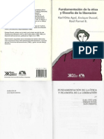 Apel Karl Otto - Fundamentacion de La Etica y Filosofia de La Liberacion