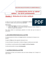 Example Lettre