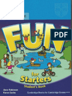 Fun for Starters 2nd Edition