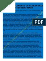 126 Carta de Clemente de Alexandria Em Segredo Mark