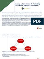 Mentoring & Consultoria de Marketing e Gestão Estratégica de Resultados