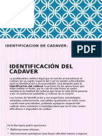 IDENTIFICACION DE CADAVER ML.pptx