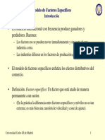 Modelo Factores Especificos