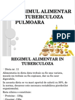 Regimul Alimentar in Tuberculoza Pulmoara