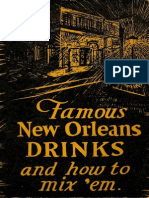 1938 Famous Orleans Drinks and How to Mix 'Em by Stanley Clisby Arthur