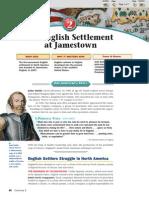 An English Settlement at Jamestown