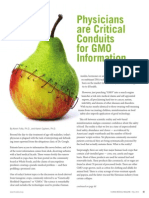Physicians are Critical Conduits for GMO Information