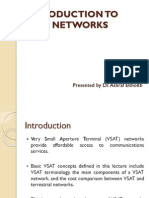 Introduction to Vsat Networks