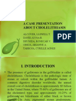 cholelithiasis case pres