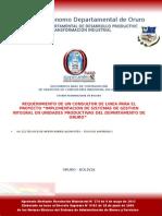 Formularios de la gobernacion