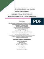 Cartilla Control Social a La Gestion Publica