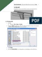 Autodesk Revit Architecture - Tạo các mẫu