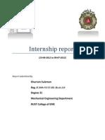 Internship Report Khurram