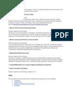 Syllabus for MA Economics