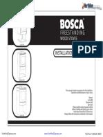 Bosca Spirit 550 Manual