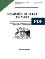 Creacion de Una Ley en Chile