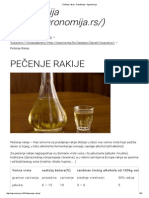 Pečenje Rakije - Destilacija - Agronomija